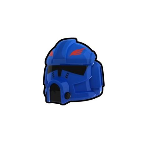 Lego Custom Minifig AREALIGHT Blue Clone Pilot Hawk Helmet (La Petite Brique)