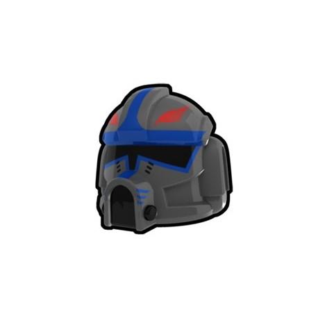 Lego Custom Minifig AREALIGHT Dark Gray Clone Pilot Hawk Helmet (La Petite Brique)