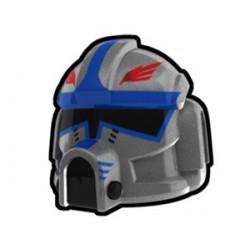 Silver Clone Pilot Hawk Helmet