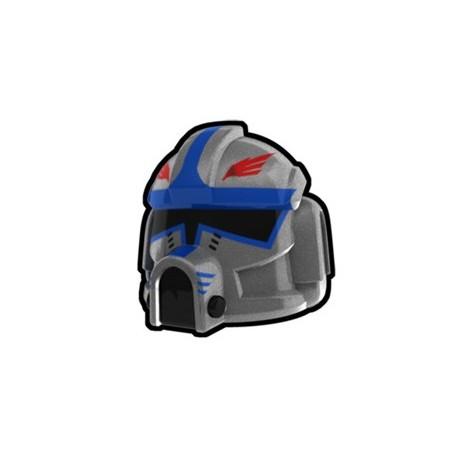 Lego Custom Minifig AREALIGHT Silver Clone Pilot Hawk Helmet (La Petite Brique) Star Wars