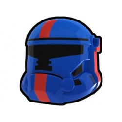 Blue Havoc Trooper of Old Repulic Combat Helmet