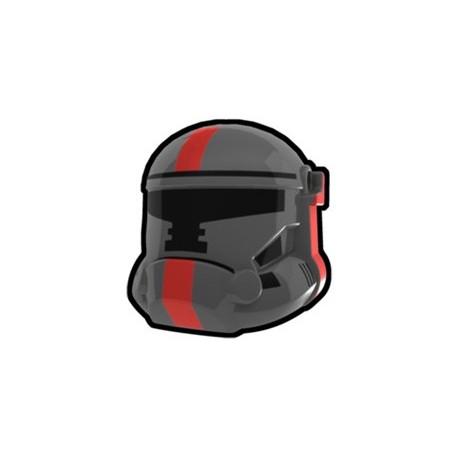 Lego Custom Minifig AREALIGHT Dark Gray Havoc Trooper of Old Repulic Combat Helmet (La Petite Brique)
