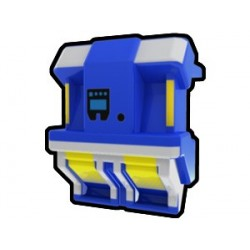 Lego Custom Minifig AREALIGHT Blue SCRH Jetpack (La Petite Brique)