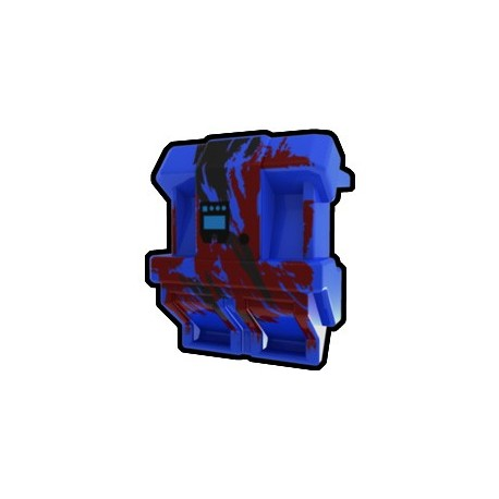 Lego Custom Minifig AREALIGHT Blue SV Jetpack (La Petite Brique)
