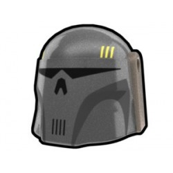 Silver Mando Executioner Hunter Helmet