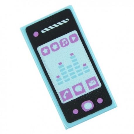 Lego Accessoires Minifig Téléphone Smartphone - Tile 1 x 2 (La Petite Brique)