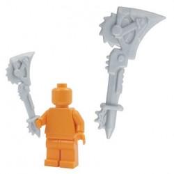Lego Custom Accessoires Minifig BRICKFORGE Outland Ripper (Silver) (La Petite Brique)