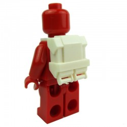 Lego Accessoires Minifig CLONE ARMY CUSTOMS Commando Back Pack (blanc) Star Wars (La Petite Brique)