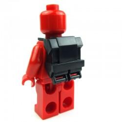 Lego Accessoires Minifig CLONE ARMY CUSTOMS Commando Back Pack (noir) Star Wars (La Petite Brique)
