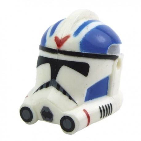 Lego Accessoires Minifig CLONE ARMY CUSTOMS Casque Clone Phase 2 501st Rocket (La Petite Brique) Star Wars