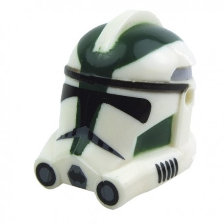 Lego Accessoires Minifig CLONE ARMY CUSTOMS Casque Clone Phase 2 Gree (La Petite Brique) Star Wars