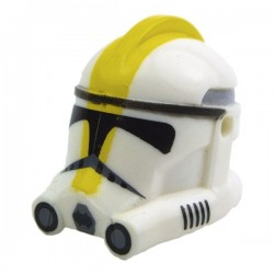 Lego Accessoires Minifig CLONE ARMY CUSTOMS Casque Clone Phase 2 327th (La Petite Brique) Star Wars