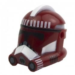 Lego Accessoires Minifig CLONE ARMY CUSTOMS Casque Clone Phase 2 Fox Dark Red (La Petite Brique) Star Wars