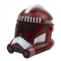 Clone Phase 2 Fox Dark Red Helmet