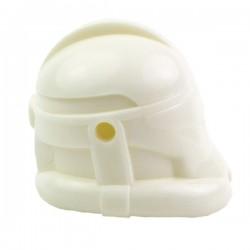 Lego Minifigure Accessories Minifig CLONE ARMY CUSTOMSRecon Helmet (White)