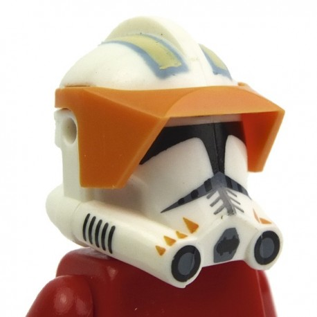 Lego Accessoires custom Minifig CLONE ARMY CUSTOMS Casque Clone Phase 2 Cody avec sa visière (La Petite Brique) Star Wars