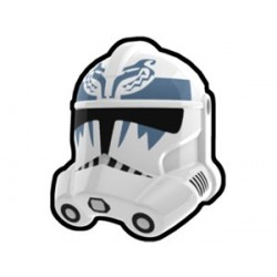 Lego Minifig Custom AREALIGHT White Boost Trooper Helmet (La Petite Brique) Star Wars