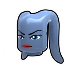 "Lego Minifig Custom AREALIGHT Tête Tentaculaire Eleena ""sand blue"" (La Petite Brique) Star Wars"