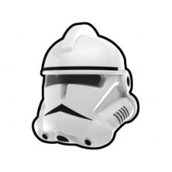 Lego Minifig Custom AREALIGHT White Gen Commander Helmet (La Petite Brique) Star Wars