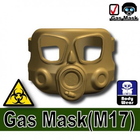 Gas mask M17 (Dark Tan)