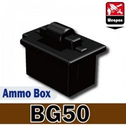 Lego Custom Minifig Si-Dan Toys Boite de Munitions (BG50) (La Petite Brique)
