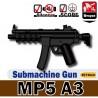 Lego Custom Minifig Si-Dan Toys MP5A3 (noir) (La Petite Brique)