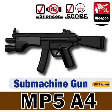 Lego Custom Minifig Si-Dan Toys MP5A4 (noir) (La Petite Brique)