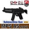 Lego Custom Minifig Si-Dan Toys MP5A5 NAVY (noir) (La Petite Brique)