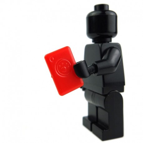 Lego Custom Minifig Si-Dan Toys mPad (rouge) (La Petite Brique)