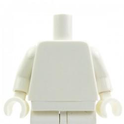 Lego Accessoires Minifig - Torse - blanc (La Petite Brique)