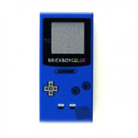 Lego Custom Minifig eclipseGRAFX Game Boy Bleu (Tile 1x2) (La Petite Brique)