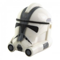 "Clone Phase 2 ""501st"" Trooper Helmet (Dark Bluish Gray print)"
