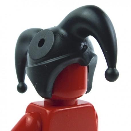 Lego Custom Accessoires Minifig BRICK WARRIORS Chapeau de bouffon (noir) (La Petite Brique)