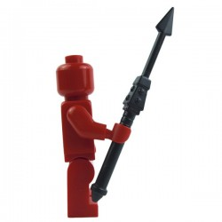 Lego Custom BRICK WARRIORS Pilum Javelot Romain (noir) La Petite Brique