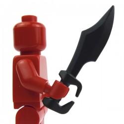 Lego Accessoires Minifig Custom BRICK WARRIORS Epée Spartiate (noir) La Petite Brique