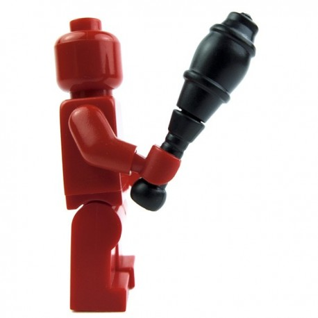 Lego Accessoires Minifig Custom BRICK WARRIORS Juggling Pin (noir) La Petite Brique