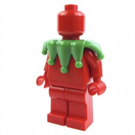 Lego Accessoires Minifig Custom BRICK WARRIORS Collier de bouffon (Vert) La Petite Brique