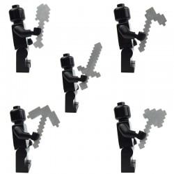 Lego Accessoires Minifig Custom X39 Ultimate Craftsmen Tools – Pack (Iron) (La Petite Brique)