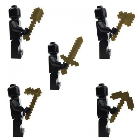 Ultimate Craftsmen Tools – Pack (Metallic Gold) (Minecraft)