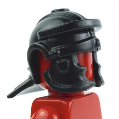 Lego Custom Accessoires Minifig BRICK WARRIORS Casque Romain (noir) (La Petite Brique)