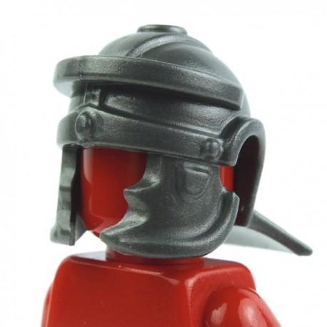 Lego Custom Accessoires Minifig BRICK WARRIORS Casque Romain (steel) (La Petite Brique)