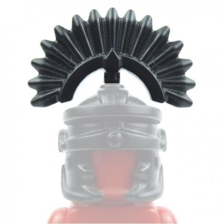 Lego Custom Accessoires Minifig BRICK WARRIORS Plume Romain (noir) (La Petite Brique)