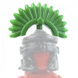 Lego Custom Accessoires Minifig BRICK WARRIORS Plume Romain (vert) (La Petite Brique)