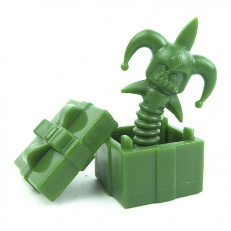 Lego Custom Accessoires Minifig BRICK WARRIORS Death in the Box (vert) (La Petite Brique)