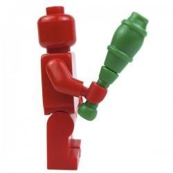 Lego Custom Accessoires Minifig BRICK WARRIORS Juggling Pin (vert) (La Petite Brique)