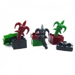 Lego Accessoires Minifig Custom BRICK WARRIORS Death in the Box (lot de 3 couleurs) La Petite Brique
