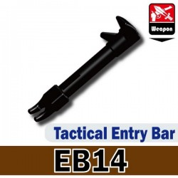Lego Custom Minifig Si-Dan Toys Tactical Entry Bar (EB14) (noir) (La Petite Brique)