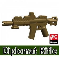 Lego Minifig Accessoires Si-Dan Toys Diplomat Rifle (beige foncé) (La Petite Brique)