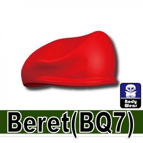 Lego Accessoires Minifig Si-Dan Toys Beret (rouge) (La Petite Brique)