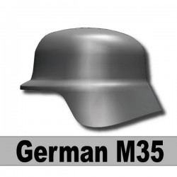 Helmet German M35 (Iron Black)